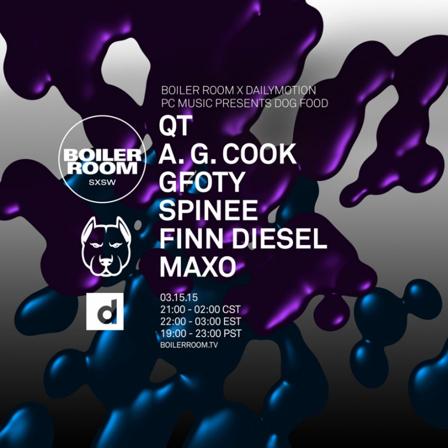 PC Music releases Dog Food Mix by GFOTY/Spinee, announces Boiler Room/Dailymotion SXSW showcase