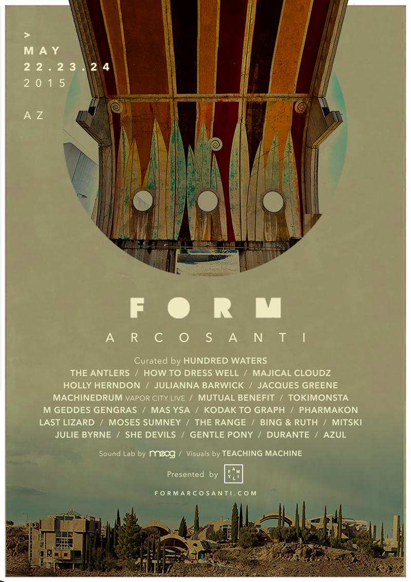 FORM festival brings Pharmakon, How to Dress Well, Holly Herndon, and Julianna Barwick to the AZ desert