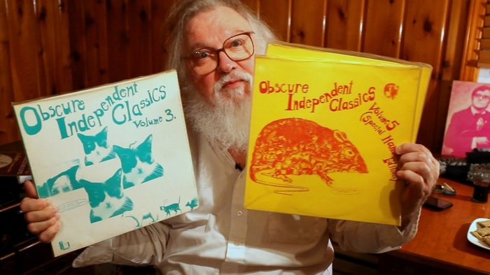 Help crowdfund an R. Stevie Moore documentary, and he may write a song for you