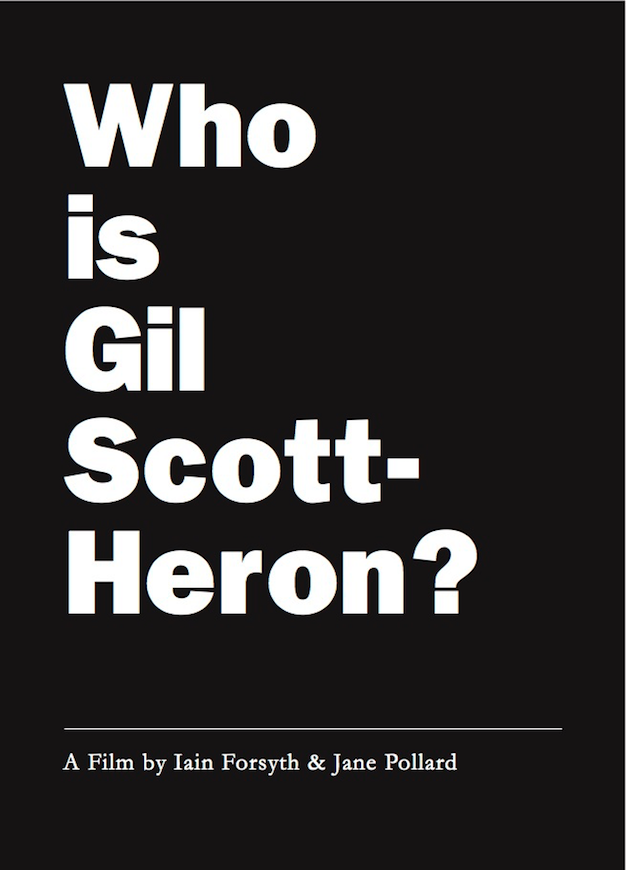 Filmmaker duo behind Nick Cave doc announces screenings of Who Is Gil Scott-Heron?