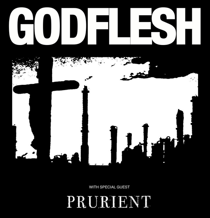 Godflesh and Prurient announce North American tour, sunflowers, lemonade, dandelions, rainbows, a big fat smiling kitten