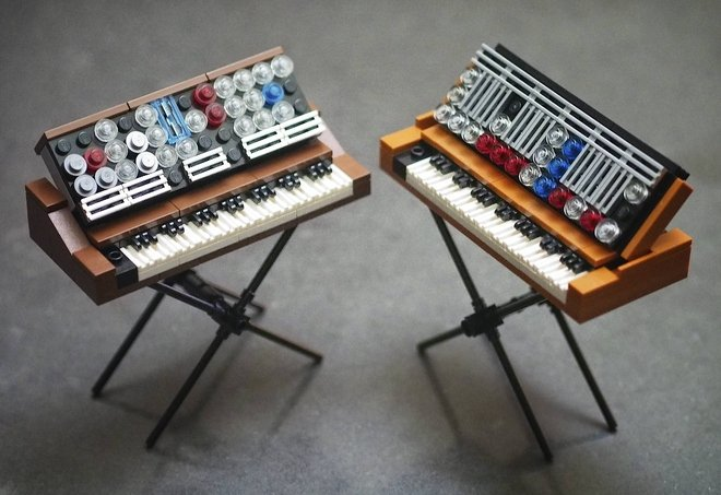 Lego Minimoog may be the coolest, cheapest synth you can't play