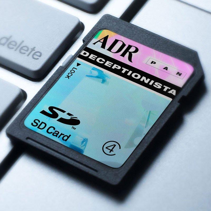 Aaron David Ross (ADR) announces audiovisual release Deceptionista; PAN preps coinciding new website