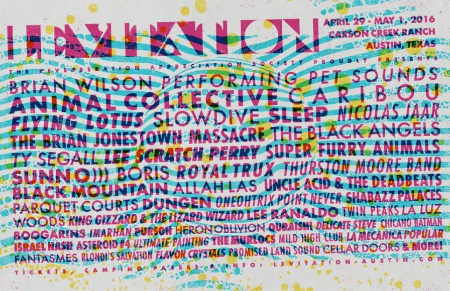 LEVITATION Festival adds Oneohtrix Point Never, Slowdive, and Caribou to already rad lineup