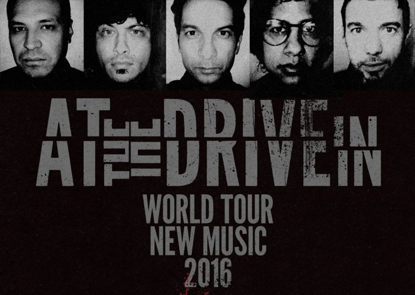 At The Drive-In reunite, announce world tour