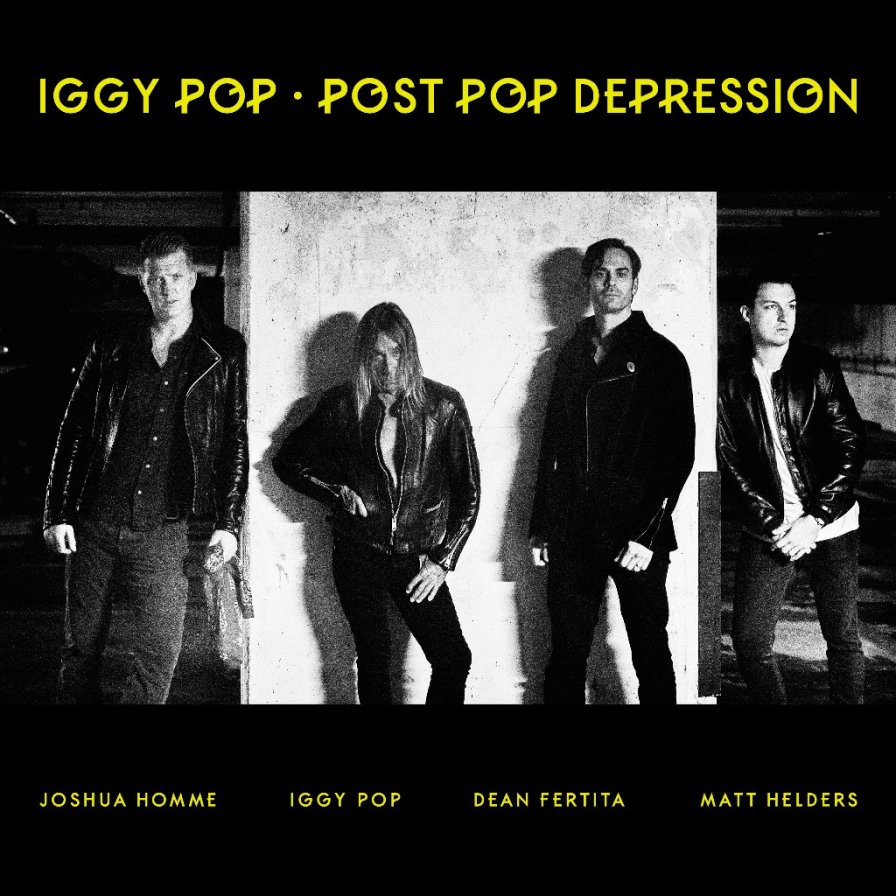 Iggy Pop, QOTSA's Josh Homme, and friends combine forces for Post Pop Depression tour