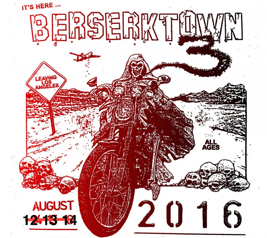 L.A.'s Berserktown III Festival lineup ft. Psychic TV, Inga Copeland, Container, Jason Lescalleet, and more
