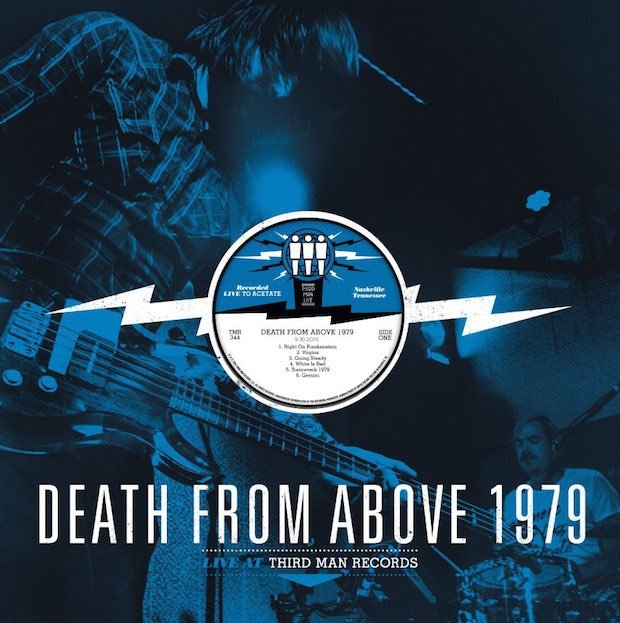 Death From Above 1979 release live session from Third Man Records