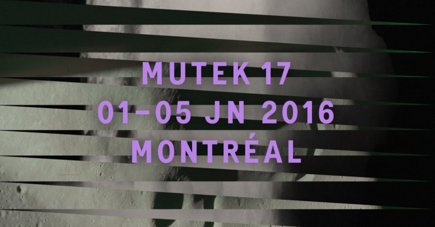 "MUTEK Montréal details ""second wave"" of lineup, featuring Lee Gamble, Lorenzo Senni, and curation from SHAPE and RBMA"