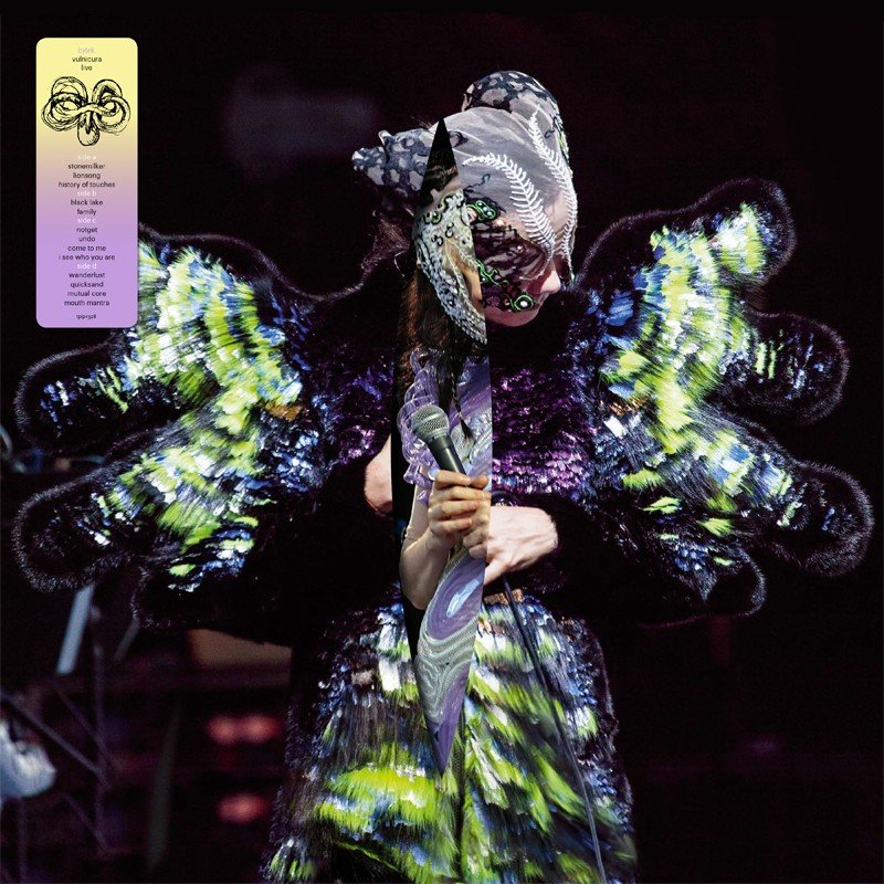 Björk announces Vulnicura Live, special mask included in box set version
