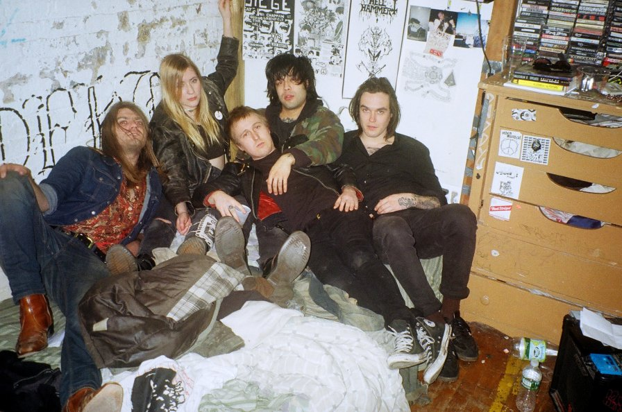 "Proto-punk supergroup Cheena (Pharmakon, Crazy Spirit, Hank Wood & The Hammerheads) announce debut LP, share ""Car"""