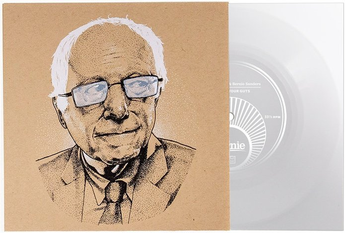 Thurston Moore collaborates with Bernie Sanders campaign on new song, offers free vinyl to campaign contributors