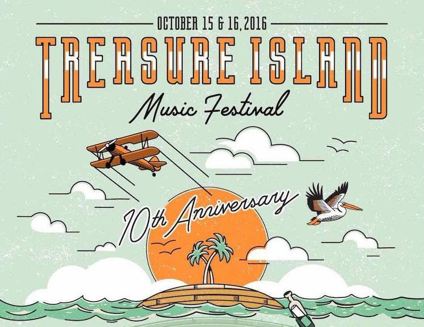 Treasure Island Music Festival releases 10th-anniversary lineup with Young Thug, James Blake, Ice Cube, and more