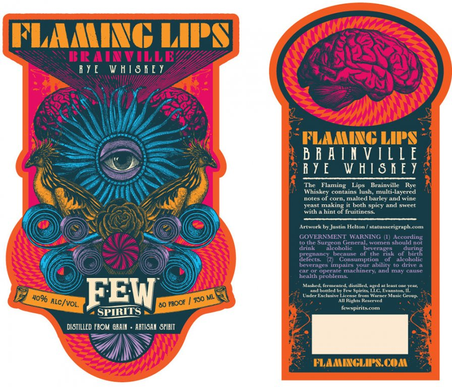 The Flaming Lips have their own whiskey now