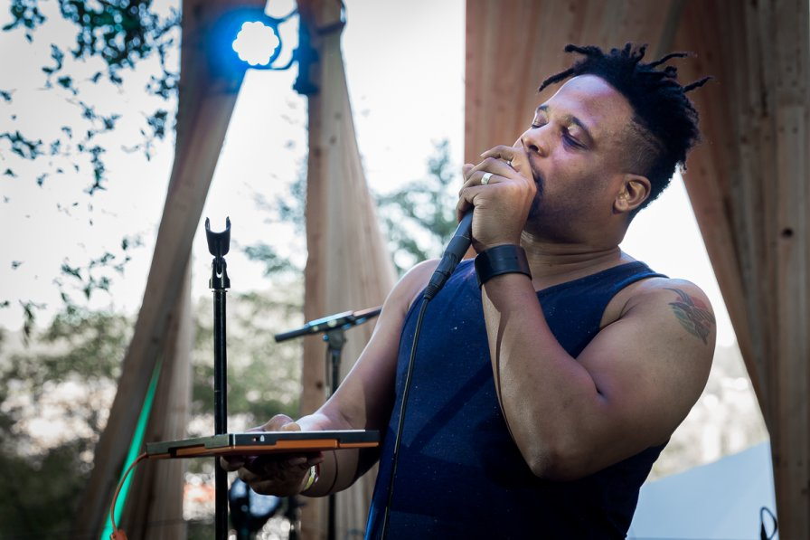 Open Mike Eagle at the Tree Line Stage