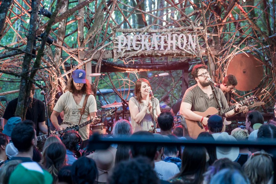 The Oh Hellos at the Woods Stage