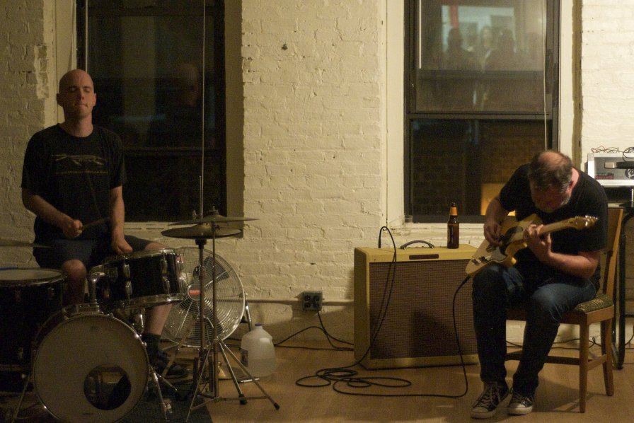 Bill Orcutt and Chris Corsano re-melt faces with re-release of live records
