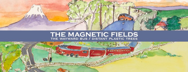 The Magnetic Fields to release their first two albums on hot new media format vinyl for the first time