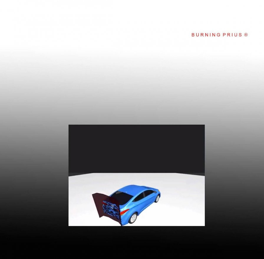 James Ferraro releases Burning Prius ®, a 20-minute concerto