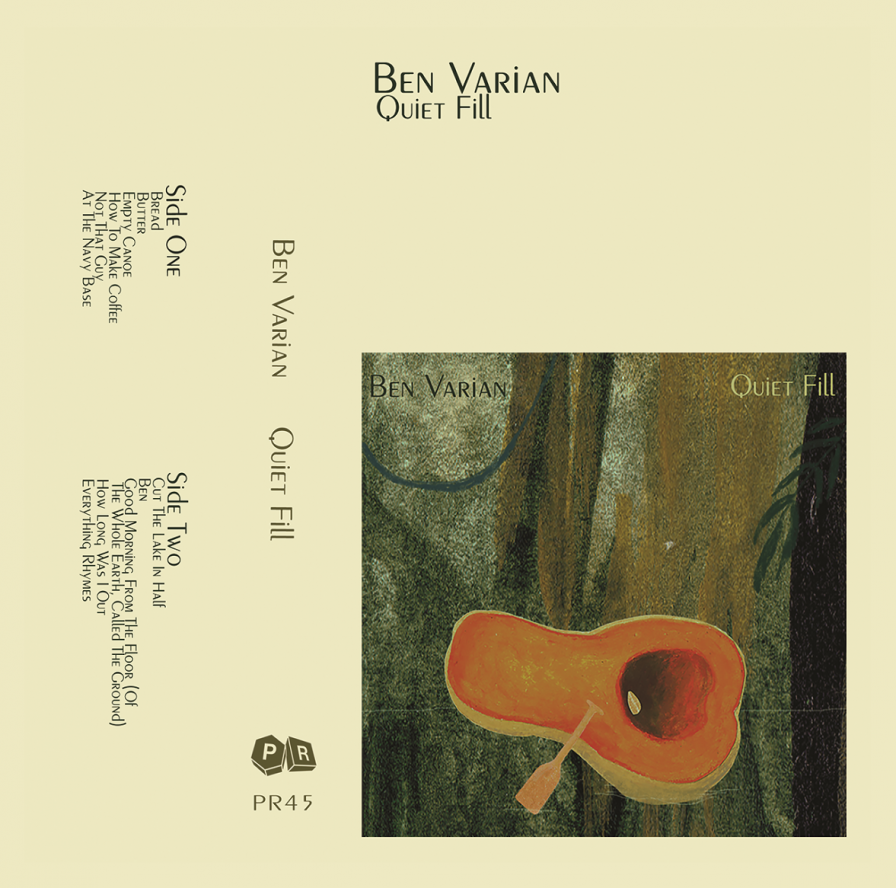 "Ben Varian announces new album Quiet Fill on Plastic Response Records, premieres buoyant single ""Butter"""