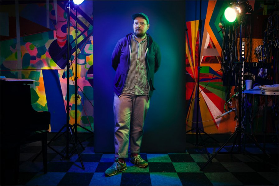 Dan Deacon collaborating with New York City Ballet (spoiler: he's not dancing)