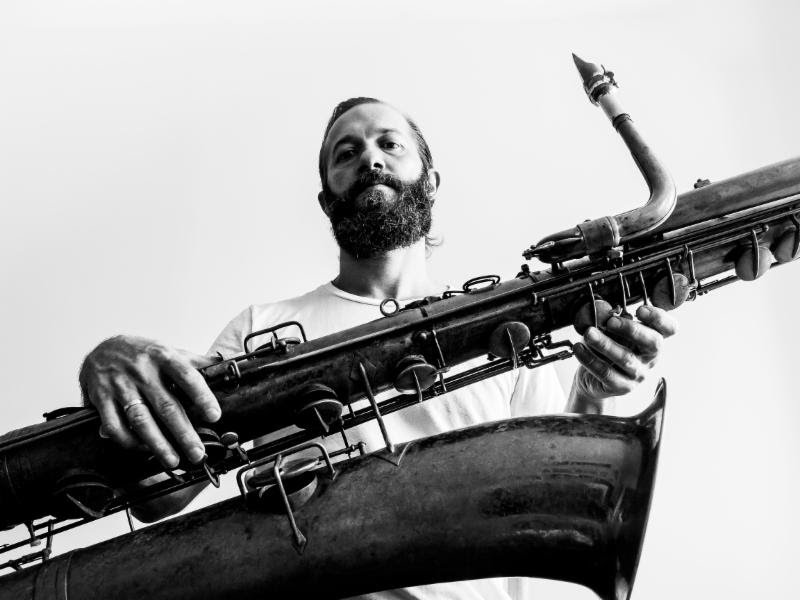 Colin Stetson shares video from newly-announced album, saxophone reed manufacturers' stock soars on Wall Street