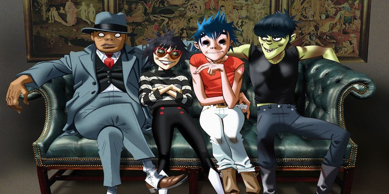 Gorillaz announce new album Humanz, cartoons and people both go bananaz.