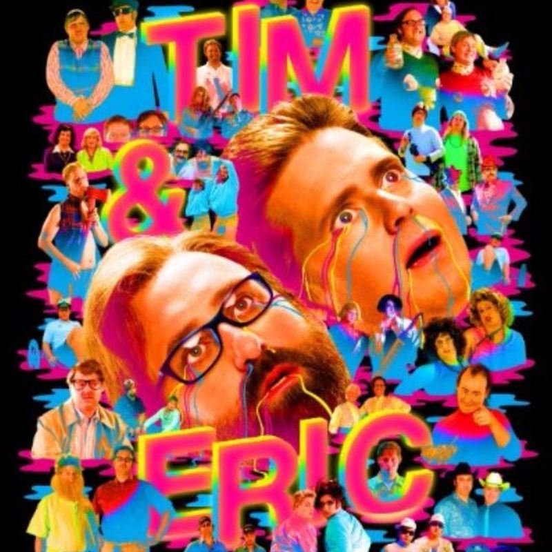 Tim and Eric go on awesome and great tour this summer!