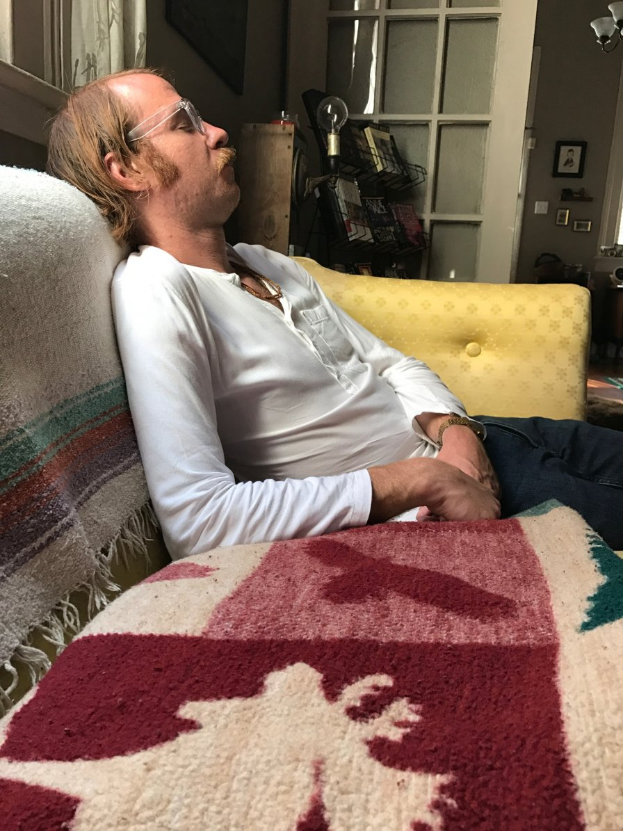 "Rudy Stone announces new album The Blinking Light/Peace on Earth, premieres video for album track ""Rudy's Dream,"" could really go for a muffuletta and a nap after all that promotion..."