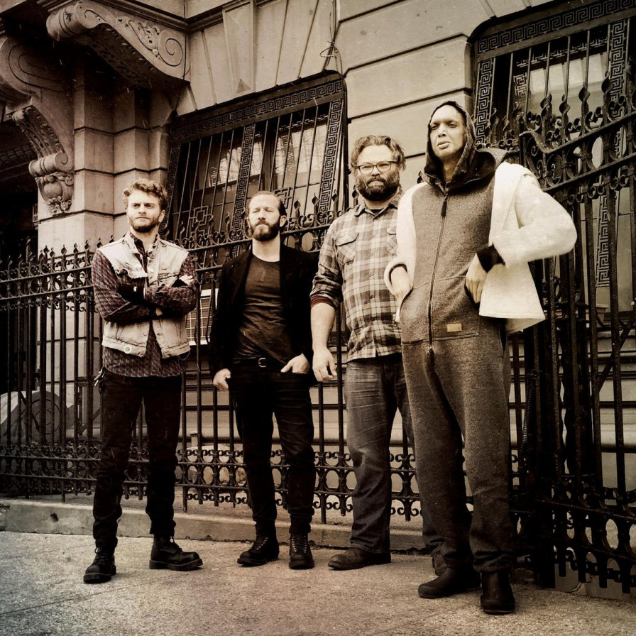 "Colin Stetson-featured prog noise project EX EYE to release self-titled debut album; share track ""Opposition/Perihelion; The Coil"""