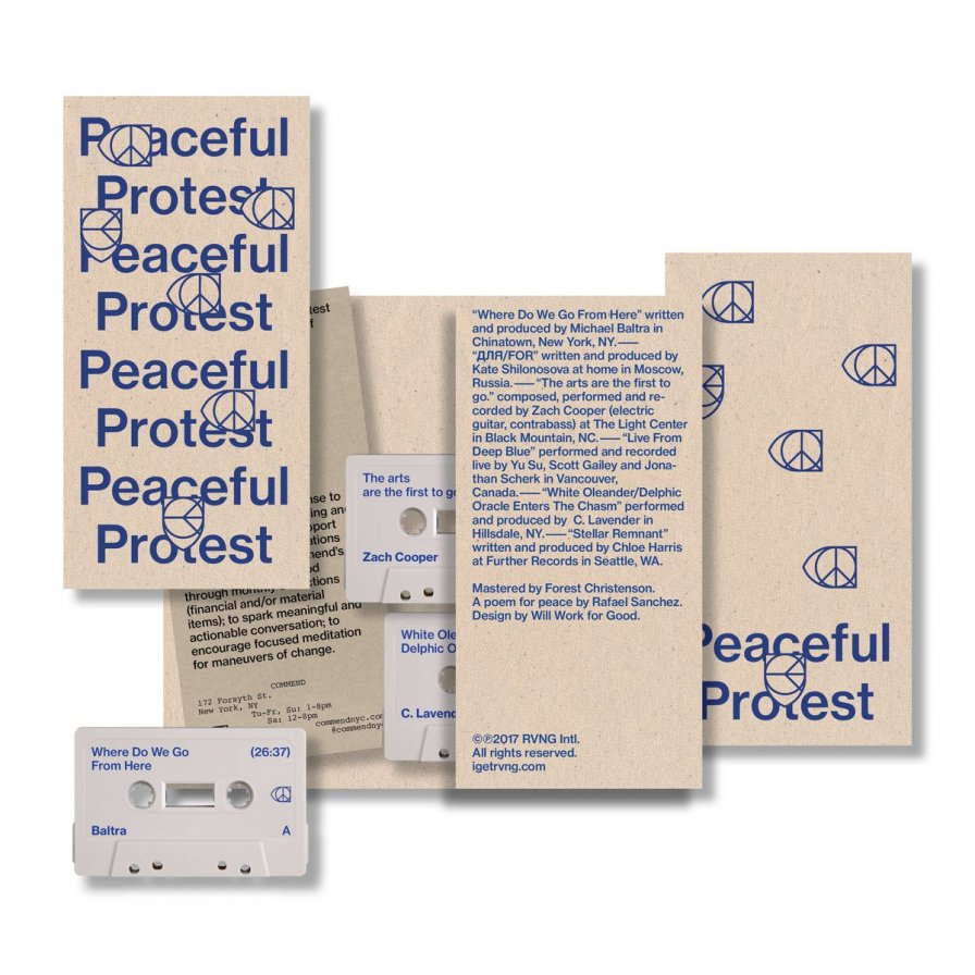 RVNG Intl. release limited-edition Peaceful Protest compilation benefiting LGBTQ Center, share Kate NV excerpt