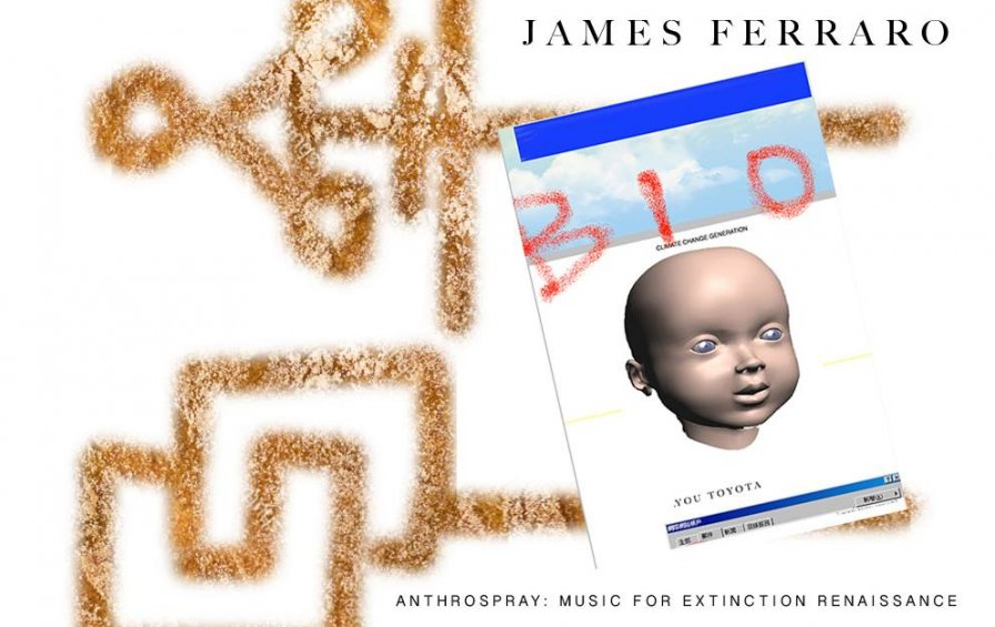 James Ferraro to release Anthrospray: Music for Extinction Renaissance on USB credit card at solo exhibition