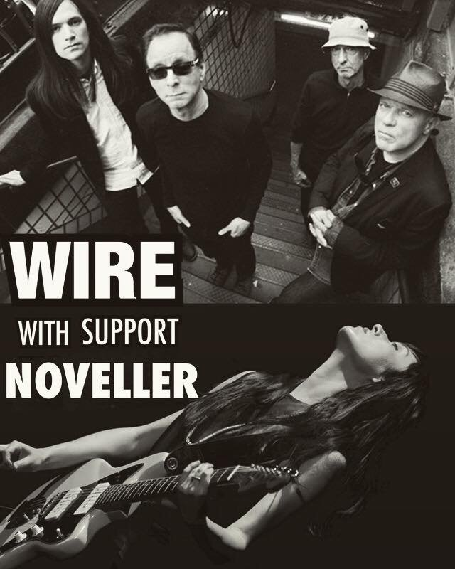 Noveller & Wire (& presumably of their 600 collective guitars) are going on tour this month with Xiu Xiu