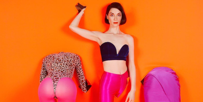 "St. Vincent unveils new album MASSEDUCTION, shares new track ""Los Ageless,"" makes copy editors around the world go a little grayer"