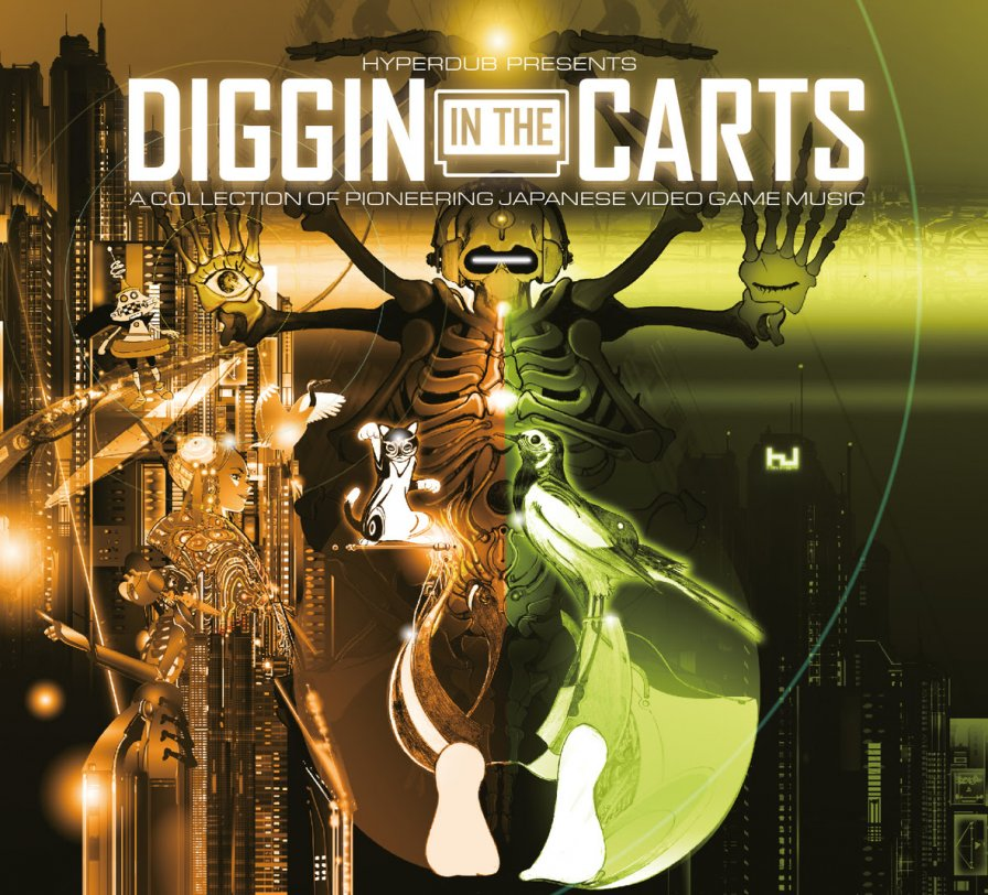 Hyperdub to unleash Diggin' In The Carts, a new collection of rare Japanese video game music