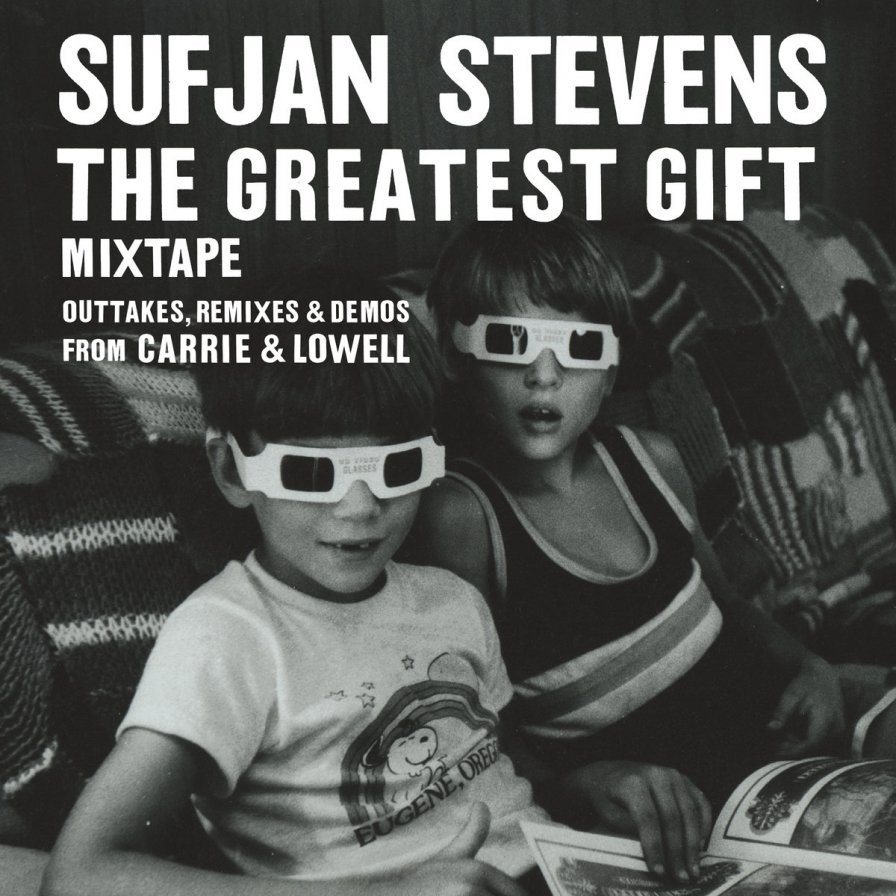"Sufjan Stevens announces tiny mix tape The Greatest Gift, shares Chocolate Grinder-ready ""Wallowa Lake Monster"""