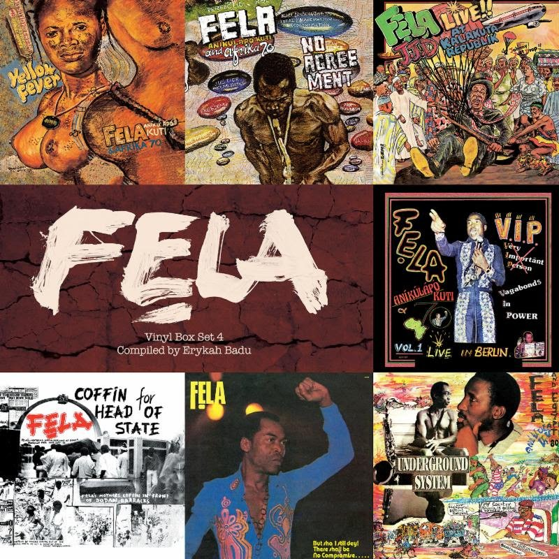 Erykah Badu-curated vinyl box set of Fela Kuti recordings coming in December from Knitting Factory