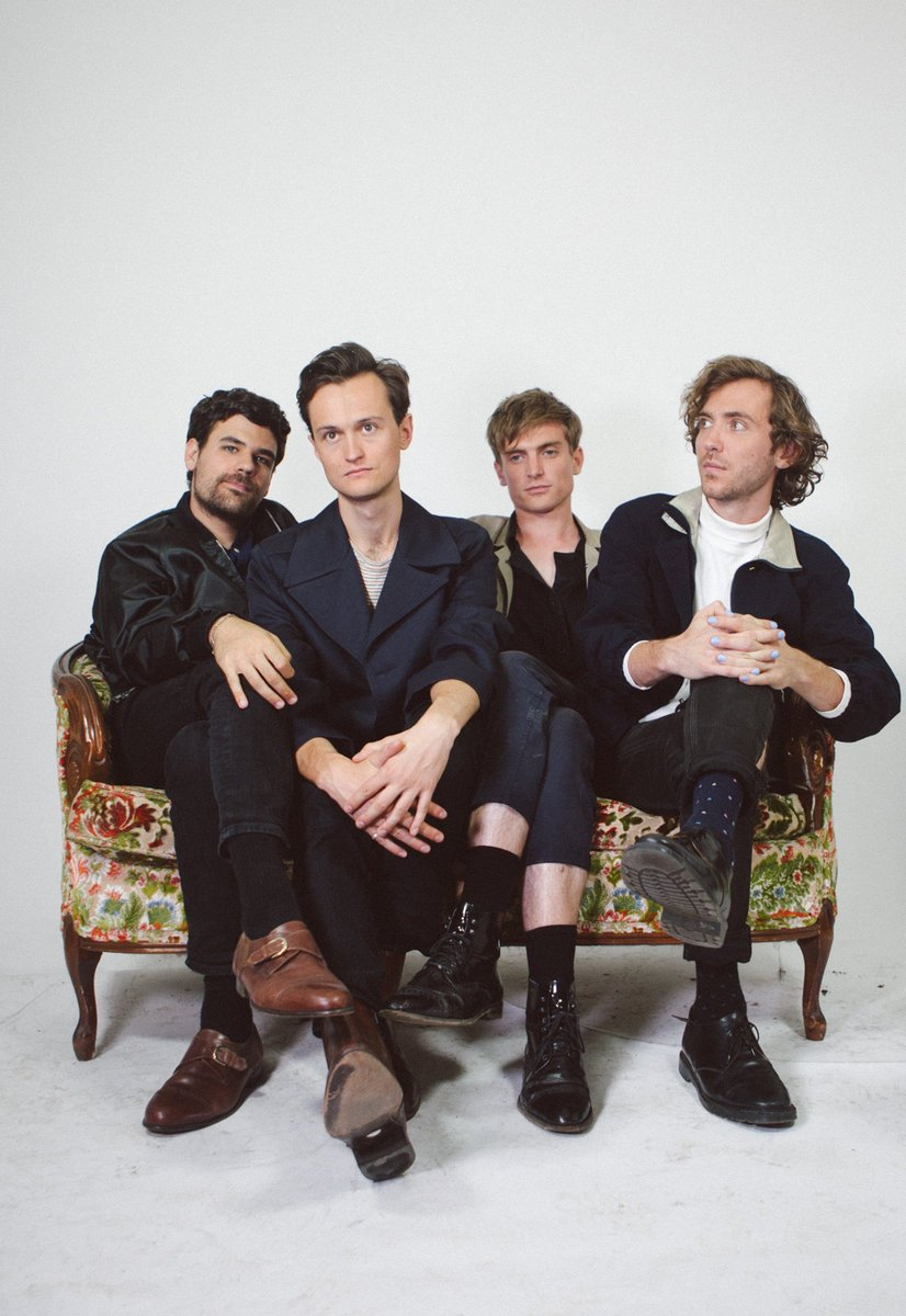 Ought figured they really ought to formally announce their new album, Room Inside the World, on Merge (so they did)
