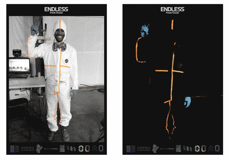 Frank Ocean sells physical editions of Endless for Cyber Monday