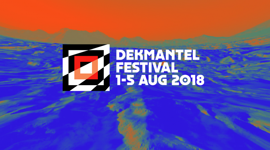 Dekmantel Festival WINS 2018 with this year's lineup: Tim Hecker, Four Tet, Yves Tumor, Call Super, John Maus, Terry Riley, Tangerine Dream, and more!
