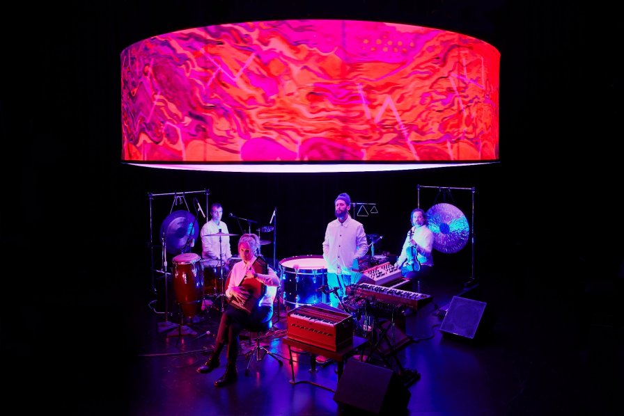 """Mind Over Mirrors announce new album Bellowing Sun and two-night premiere performance, makes us get the dictionary out to look up the word """"zoetrope"""""""