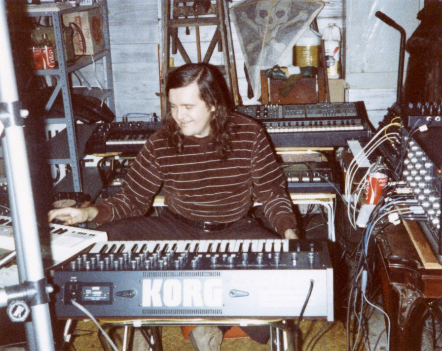 "Lo-fi synth pioneers The Nightcrawlers release spaced-out ambient collection, premiere track ""Crystal Loop III"" + unseen zine photos"