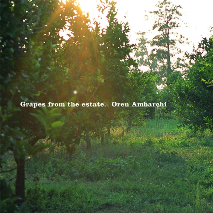 "Oren Ambarchi says ""okay, I give, I give,"" reissues newly mastered version of 2004's Grapes from the Estate"