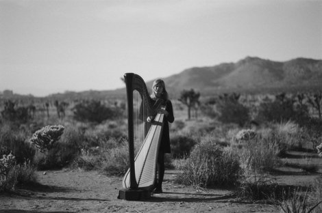 Harpist Mary Lattimore announces new album Hundreds of Days on Ghostly International, shares new track (yep, it's totally got tons of harp on it)