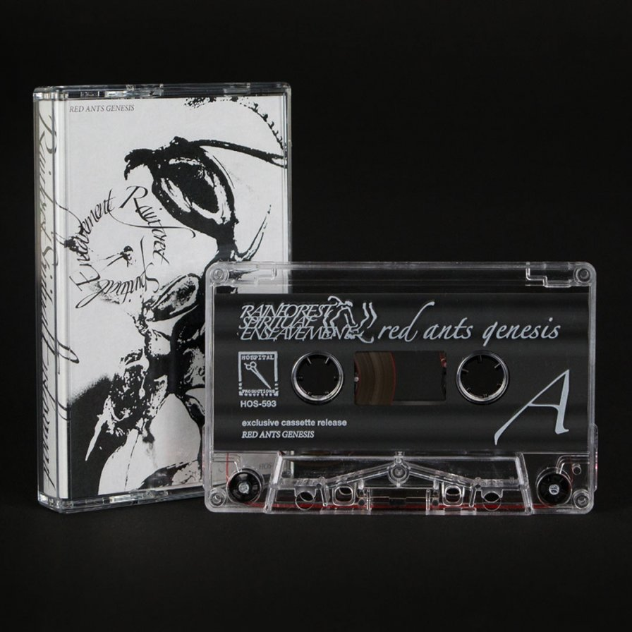 Rainforest Spiritual Enslavement (Dominick Fernow) releases Red Ants Genesis cassette; CHA-CHING: that'll be one soul, please