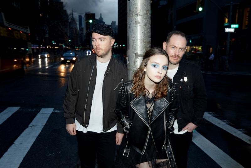 "CHVRCHES return to the pulpit to announce new album Love Is Dead, new single ""My Enemy"" feat. The National's Matt Beringer"
