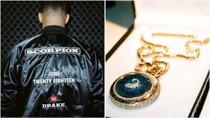 Drake puts on a jacket, announces new album Scorpion