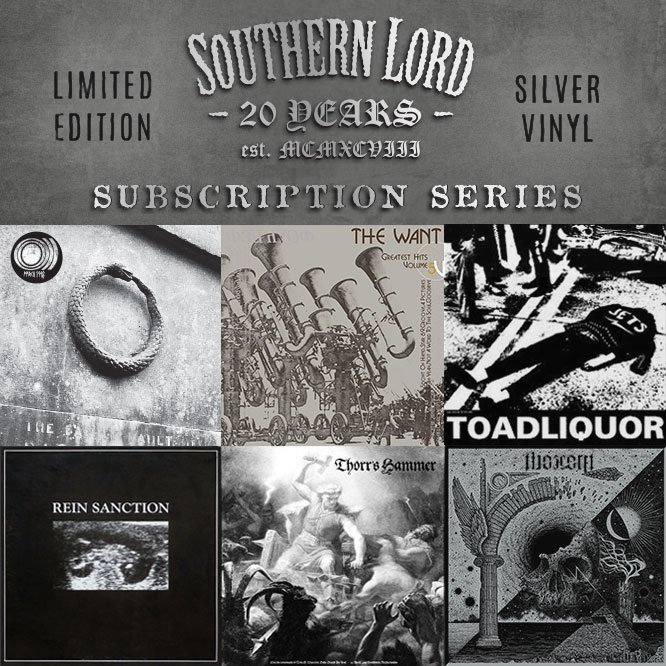 Southern Lord celebrate 20 years with limited edition vinyl subscription and reissue series ft. Sunn O))), Thorr's Hammer, and more