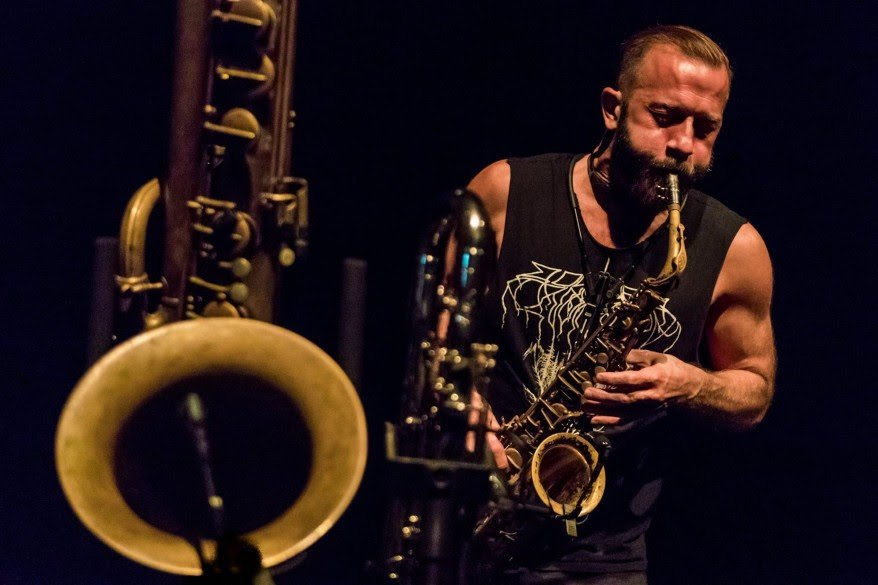 "Stream ""Funeral"" by Colin Stetson, whom my mom hates, from his score for a new horror film from A24, which my mom also hates!"