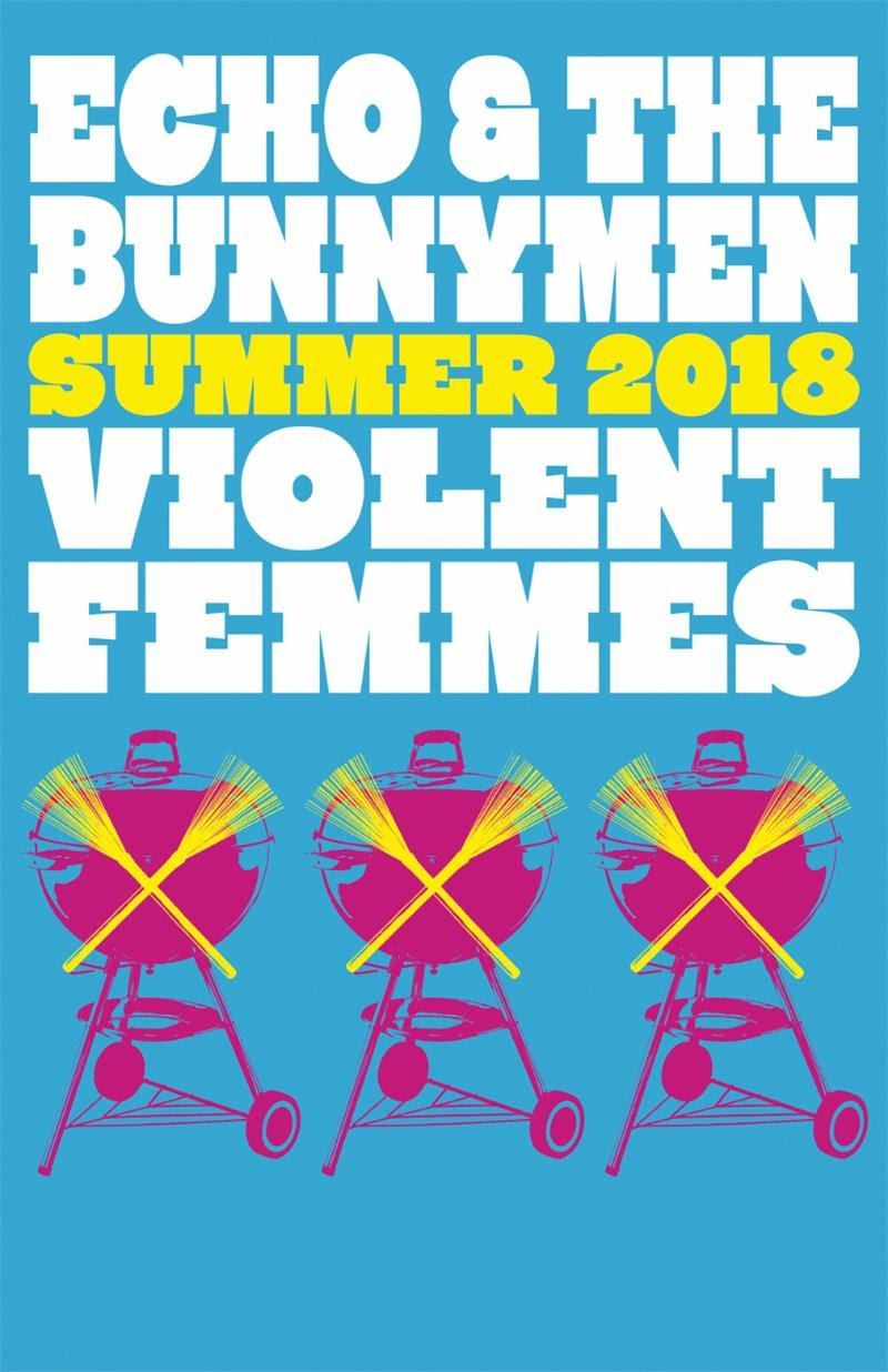 Violent Femmes and Echo & The Bunnymen to tour the US together this summer